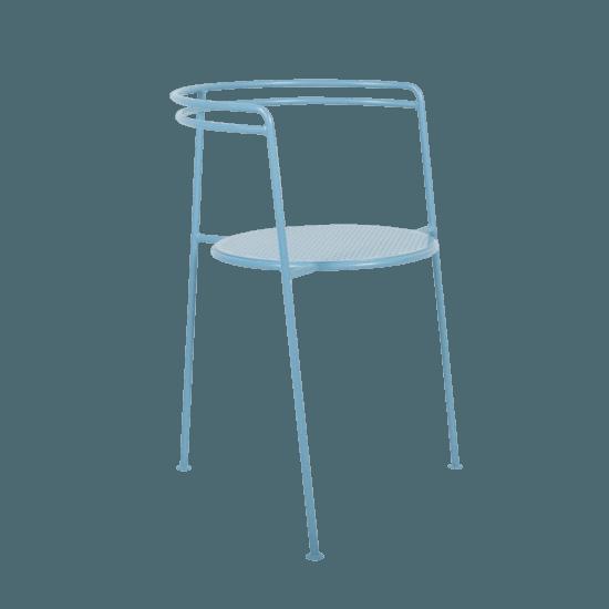 Point chair  pigion blue 3