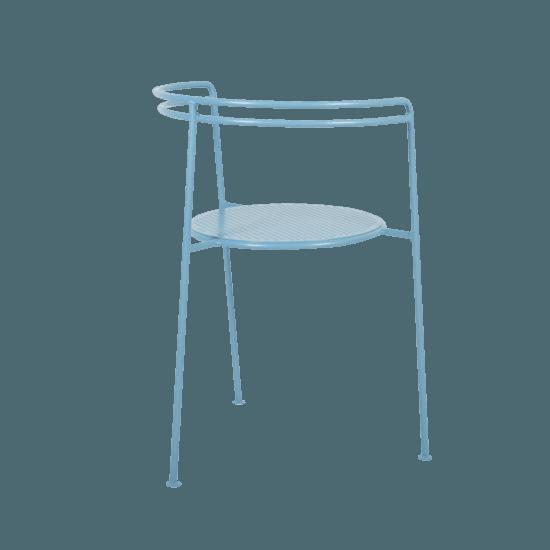 Point chair  pigion blue 2