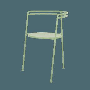 Point Chair Green