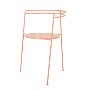 Point Chair Orange, Pink