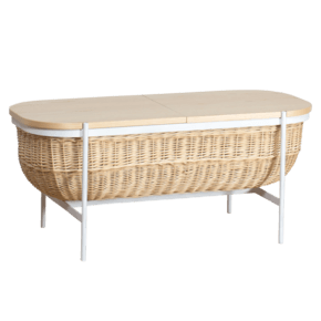 Willow Bench White