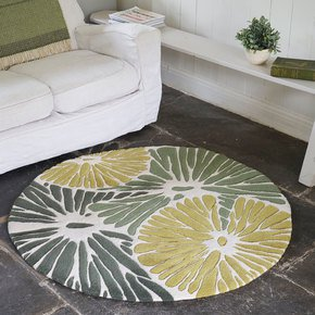 Pond-Life-Round-Lilypad-Cheerful-Statement-Rug_Interiors-By-Element_Treniq_0