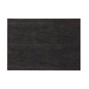 Serving Mat / Grand Placemat Faux Boa Charcoal