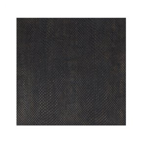 Placemat Faux Boa Charcoal