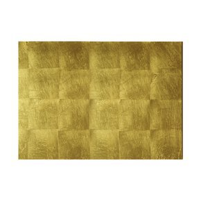 Grand Placemat/Serving Mat In Gold Leaf