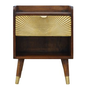 In533-1-Drawer-Chestnut-Bedside-With-Gold-Sunrise-Pattern-Drawer-Front_Artisan-Furniture_Treniq_0