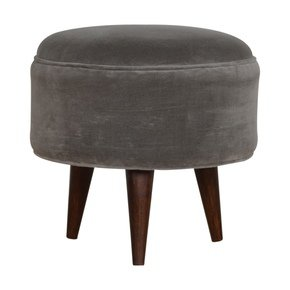 In821-Grey-Velvet-Nordic-Style-Footstool-_Artisan-Furniture_Treniq_0