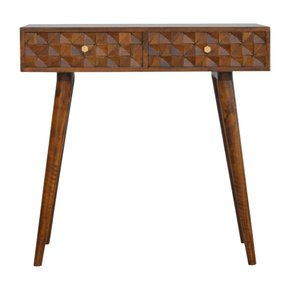 In788-Chestnut-Diamond-Carved-Console-Table-With-2-Drawers_Artisan-Furniture_Treniq_0