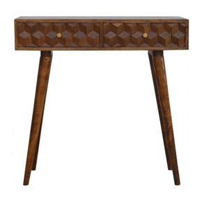 In785-Chestnut-Cube-Carved-Console-Table-With-2-Drawers_Artisan-Furniture_Treniq_0