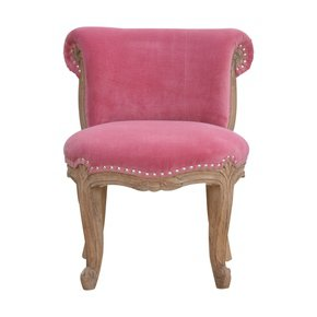 In764-Pink-Velvet-Studded-Chair-With-Cabriole-Legs-_Artisan-Furniture_Treniq_0