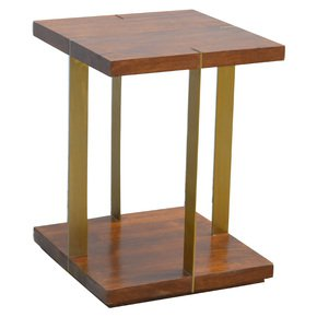 In481-Open-Chestnut-End-Table-With-4-Gold-Panels_Artisan-Furniture_Treniq_0