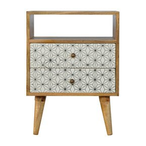 In356-2-Drawer-Geometric-Screen-Printed-Bedside-With-Open-Slot_Artisan-Furniture_Treniq_0