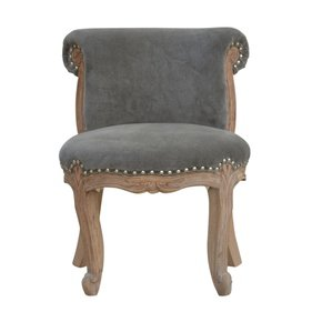 In763-Grey-Velvet-Studded-Chair-With-Cabriole-Legs-_Artisan-Furniture_Treniq_0