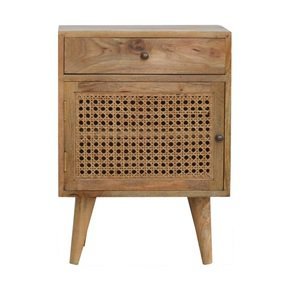In677-Oak-Ish-Finish-Bedside-With-Ratten-Door_Artisan-Furniture_Treniq_0