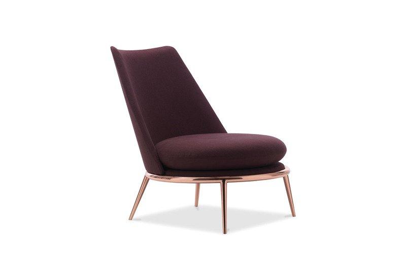 Aurora poltrona padded armchair cantori treniq 1