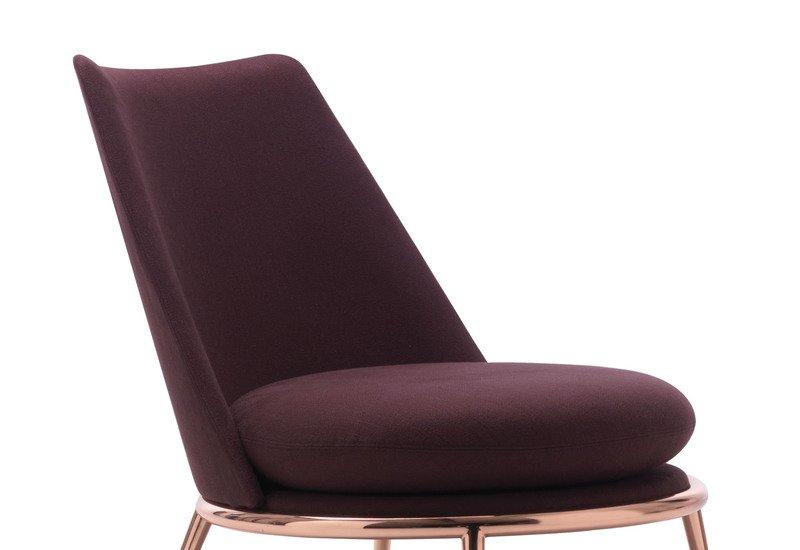 Aurora poltrona padded armchair cantori treniq 2