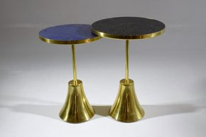 Zel-Ii-I-Contemporary-Brass-Mosaic-Side-Table_Jonathan-Amar-Studio_Treniq_2
