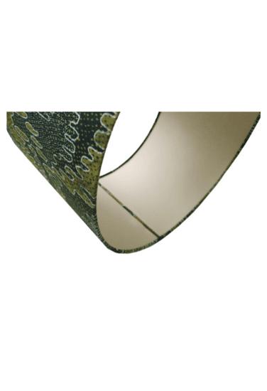 Luxury irish linen 40cm lampshade   anna kilmore by earthed handmade green earthed by wm clark treniq 1 1561390658168