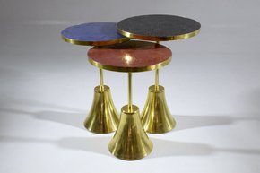 Zel-I-I-Contemporary-Brass-Mosaic-Side-Table_Jonathan-Amar-Studio_Treniq_3