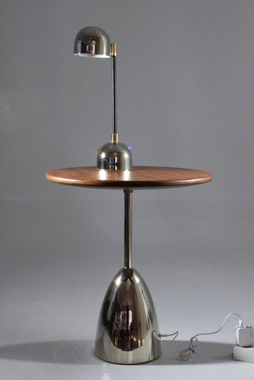 Unio i iv contemporary handcrafted wireless brass lamp jonathan amar studio treniq 1 1561563664273