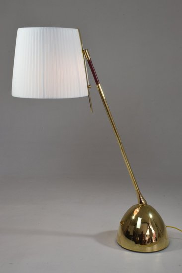 Infinitus vii tall contemporary brass table lamp jonathan amar studio treniq 1 1561652548614