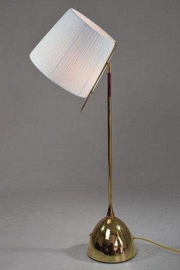 Infinitus vii tall contemporary brass table lamp jonathan amar studio treniq 1 1561652548612