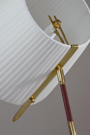 Infinitus vii tall contemporary brass table lamp jonathan amar studio treniq 1 1561652548618