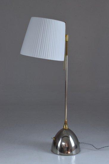 Infinitus vii tall contemporary brass table lamp jonathan amar studio treniq 1 1561652548623