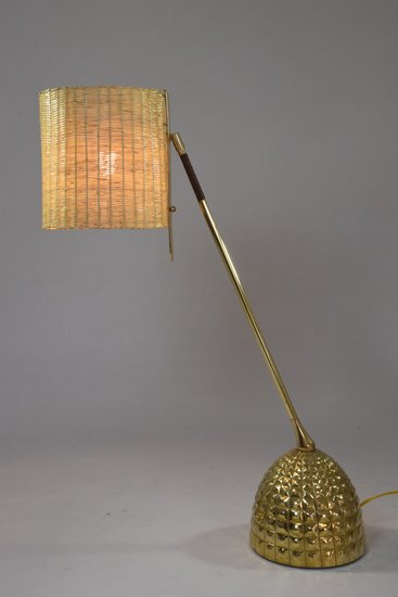 Infinitus vi contemporary brass table lamp jonathan amar studio treniq 1 1561652768429