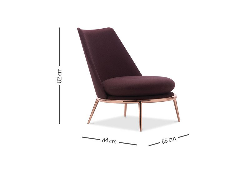 Aurora poltrona padded armchair cantori treniq 5