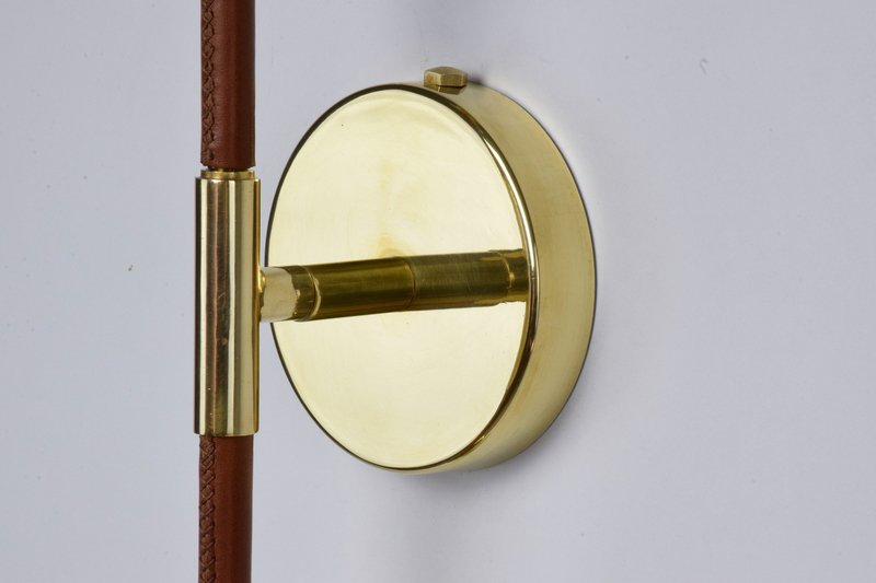 Ancora v contemporary brass wall light jonathan amar studio treniq 1 1562078810595