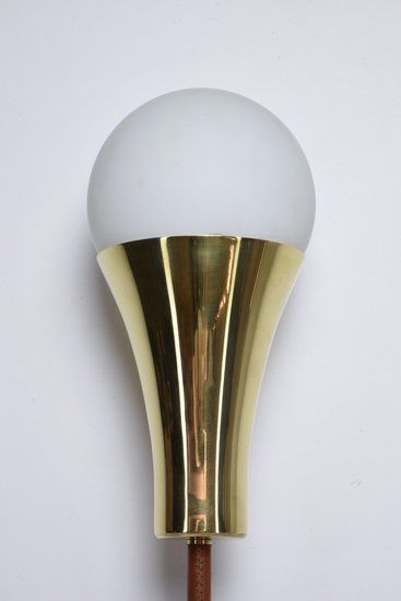 Ancora v contemporary brass wall light jonathan amar studio treniq 1 1562078810604
