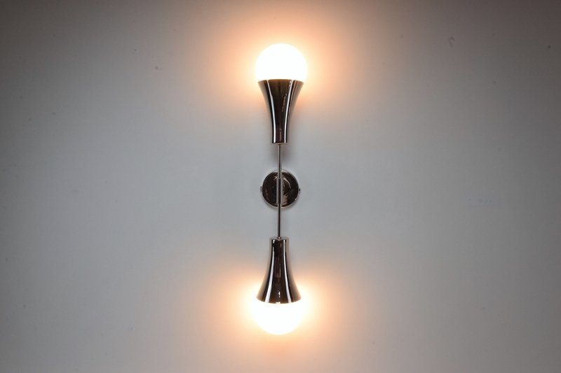 Ancora v contemporary brass wall light jonathan amar studio treniq 1 1562078826804