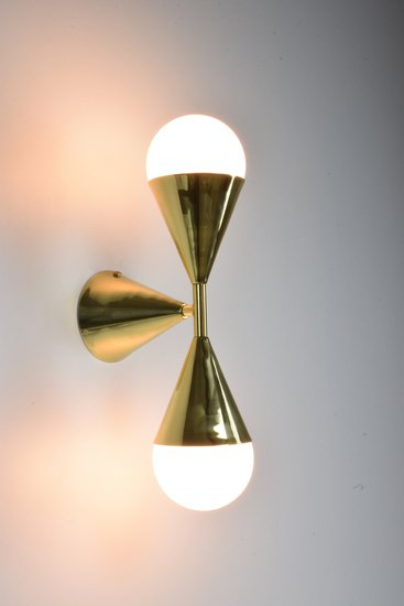 Ancora viii contemporary brass wall light jonathan amar studio treniq 1 1562084254922