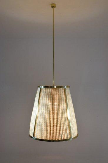 Caeli i mii contemporary monumental rattan pendant light  flow collection jonathan amar studio treniq 1 1562085270249