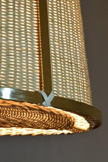 Caeli i mii contemporary monumental rattan pendant light  flow collection jonathan amar studio treniq 1 1562085270246