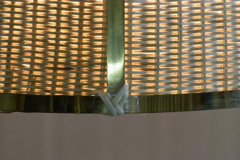 Caeli i mii contemporary monumental rattan pendant light  flow collection jonathan amar studio treniq 1 1562085270244