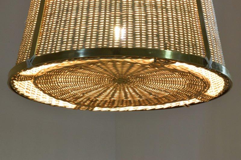 Caeli i mii contemporary monumental rattan pendant light  flow collection jonathan amar studio treniq 1 1562085270248