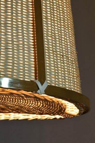 Caeli i mii contemporary monumental rattan pendant light  flow collection jonathan amar studio treniq 1 1562085270252