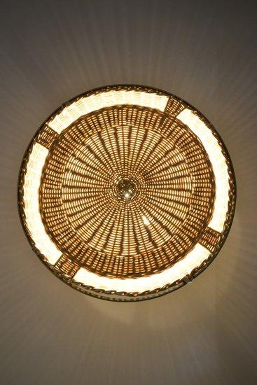 Caeli i mii contemporary monumental rattan pendant light  flow collection jonathan amar studio treniq 1 1562085297232