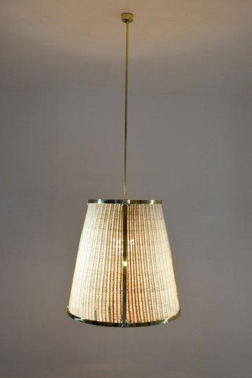 Caeli i mii contemporary monumental rattan pendant light  flow collection jonathan amar studio treniq 1 1562085270250