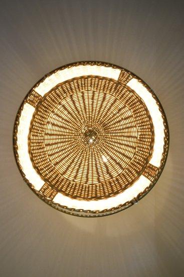 Caeli i mii contemporary monumental rattan pendant light  flow collection jonathan amar studio treniq 1 1562085305035