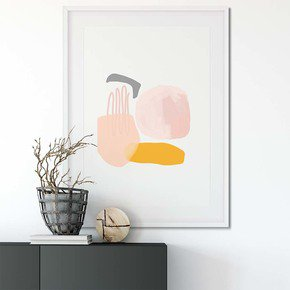 Abstract-Pastel-Shapes-Wall-Art-Print_Abstract-House_Treniq_0
