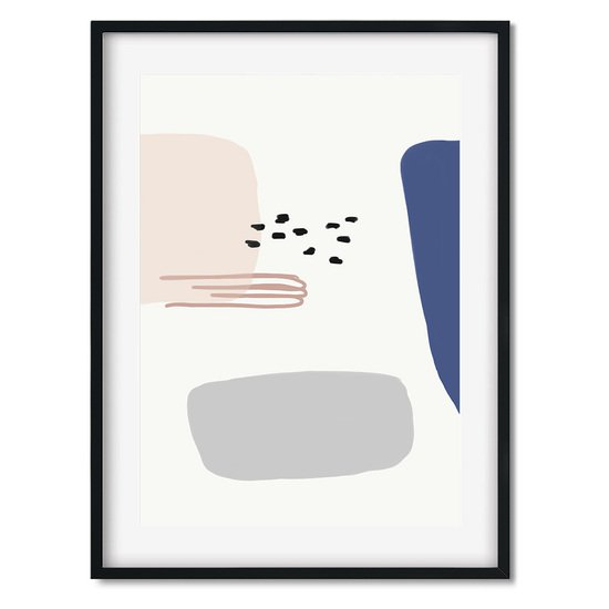 Abstract shapes and colours 2   wall art print abstract house treniq 1 1563445980031