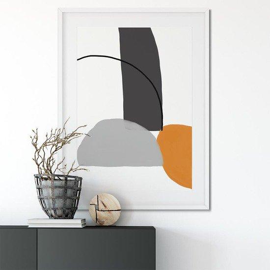 Balancing shapes canvas print abstract house treniq 1 1563446945074