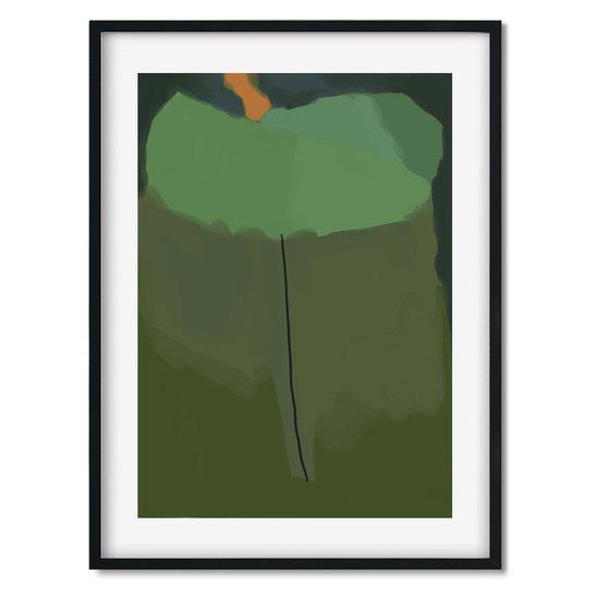 Green abstract shapes   wall art print abstract house treniq 1 1563451451124