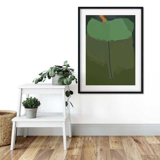 Green abstract shapes   wall art print abstract house treniq 1 1563451451125