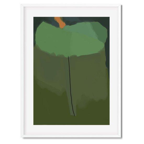 Green abstract shapes   wall art print abstract house treniq 1 1563451451126