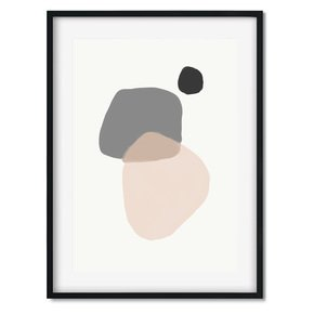Minimal-Abstract-Shapes-Wall-Art-Print_Abstract-House_Treniq_0