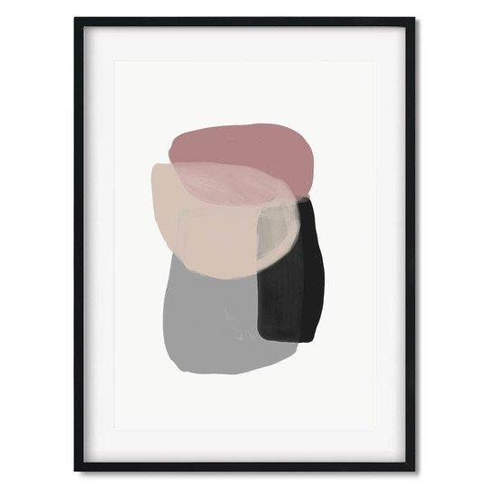 Minimal abstract shapes 2   wall art print abstract house treniq 1 1563451720580